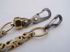 Wallet Chain-30 por EdcApparatus en Etsy