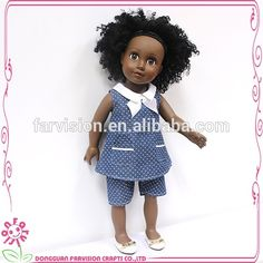 Stylished Human Hair Afro doll OEM 18 inch black doll, View black doll, Farvision black doll Product Details from Dongguan Farvision Crafts Co., Ltd. on Alibaba.com