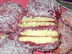 Quick, Easy, Delicious, Egg-less, South African Snowballs South African Desserts, South African Recipes, Halal Recipes, Cooking Recipes, Snowballs Recipe, Red Cake, Butter Chicken, Yummy Food, Sweets