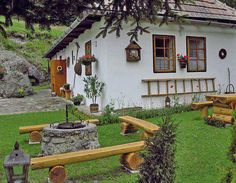 Classic Turkish village home Más Cottage Homes, Cottage Style, Bohemia House, Adobe Haus, Beau Site, My Ideal Home, Spanish Style Homes, Village Houses, Traditional House