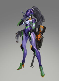 ArtStation - EVA AND OW, Kelvin Chan