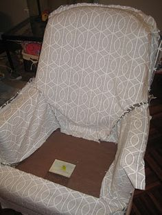 fitted slipcover instructions.