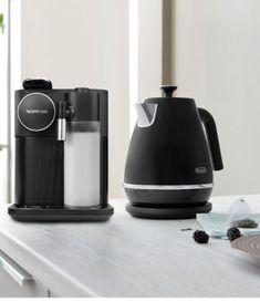 Gran Lattissima EN and Distinta Moments Perfect Match, Kettle, Kitchen Appliances, In This Moment, Products, Diy Kitchen Appliances, Tea Pot, Home Appliances, Boiler