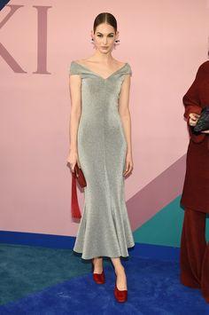 Anna Wintour Presents the 2017 CFDA Fashion Icon Award to Franca Sozzani