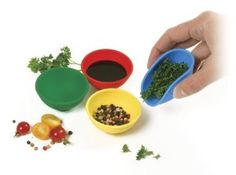 Mini Kitchen Tools Silicone Bowl For Salt Sauce Sugar Butter Cream Dressing Mayonnaise Salad Dinnerware Set Prep Kitchen, Mini Kitchen, Kitchen Stuff, Kitchen Dining, Kitchen Products, Kitchen Things, Kitchen Ideas, Kitchen Tools And Gadgets, Cooking Gadgets