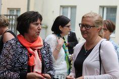 Koulutuskeskus Salpauksen Inkeri Liimatainen ja Stadin oppisopimusjohtaja Anna Mari Leinonen.
