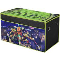 Nickelodeon Teenage Mutant Ninja Turtles Collapsible Storage Trunk: Toddler : Walmart.com