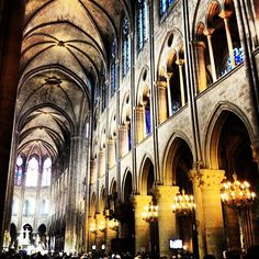 Dropped in on the Easter service at Notre Dame this morning.  Cathédrale Notre-Dame #ourchoix  20