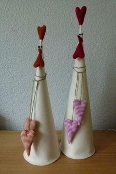 XXL 2 Filz Huhner Ostern Deko Shabby Tilda art Landhaus   eBay - #Art #Deko #eBay #Filz #Huhner #Landhaus #magnet #Ostern #Shabby #Tilda #XXL Easter Projects, Easter Crafts, Felt Crafts, Diy And Crafts, Christmas Crafts, Arts And Crafts, Chicken Crafts, Diy Ostern, Chickens And Roosters