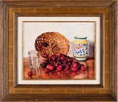 OSWALD EICHINGER, olja på pannå, sign. - Bukowskis Modern Art, Contemporary Art, All Themes, June 4th, Spring Sale, Bukowski, Wine And Spirits, Objects, Auction
