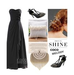 """Dress to shine"" by merima-kopic ❤ liked on Polyvore featuring Levi's, wedding and Cocomelody"