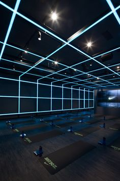 Shanghai design studio Coordination Asia has converted a Beijing art gallery into a gym and studio space for sports brand Nike.
