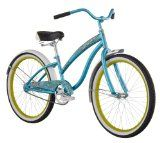 Diamondback 2013 Girl's Della Cruz Cruiser Bike (24-Inch Wheels, Teal) - #kidsstuff #kids #toys #games #toysandgames #boys #girls -   Single-speed simplicity with a coaster brake, front and rear fenders, a springy comfy saddle, this cruiser is the pe