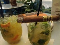 Casa Fuente Cigars and mojitos