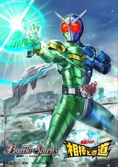 Kamen Rider W, Power Rangers, Final Fantasy, Battle, Wallpapers, Superhero, Pixiv, Artwork, Cards