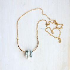 Jasper Nuggets Necklace