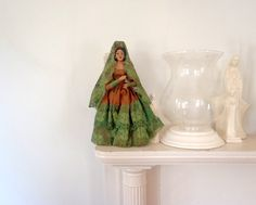 Baby Doll Antique Doll 1930s Celluloid Lace by TheOrangeCollective, $38.50
