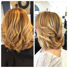 """The closest I'll be getting to anything """"beach like"""" for a few weeks  #maketheswitch #natural #nofilter #buddmakesbeautyqueens #balayage #balayagehair #balayagephilly #conshy #conshohocken #loveyourhair #livedinhair #kerabrilliance #keratincomplex #hilights #haircut #haircolor #hair #followme #dimensional #shine #sunlightsbalayage #instahair #ichoosefabulous #reneeshairstudio brought to you by @keratincomplex and @sunlightsbalayage"""