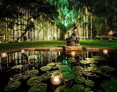 It is a magical time at Brookgreen Gardens in Murrells Inlet, SC! Nights of A Thousand Candles. South Carolina Vacation, Myrtle Beach Vacation, Myrtle Beach Sc, Beach Trip, Myrtle Beach Things To Do, Myrtle Beach Attractions, Myrtle Beach Wedding, North Carolina, Vacation Places