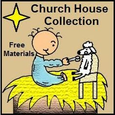 Church House Collection Blog offers free materials for children's ministry.