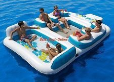 Blue Lagoon Floating Island Raft 2013