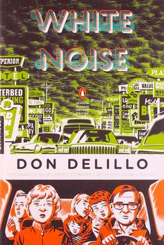 White Noise, cover design by Michael Cho