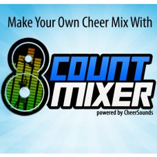 Check out the cheer mix I made with 8 Count Mixer!  Make your own cheer music with songs, sound effects and voiceovers in just minutes!