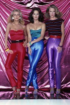 hot pants, 1970s, charlies angels, cheryl ladd, Jacklyn smith,