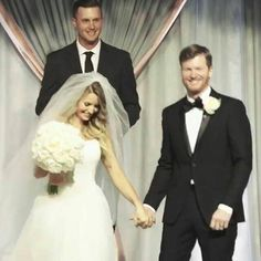 Amy and Dale Earnhardt Jr wedding