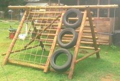 homemade outside play equipment - Google Search