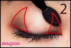 つり目でキツい印象が劇的チェンジ! 甘え上手な子猫アイのつくり方、教えます | マキアオンライン(MAQUIA ONLINE) Makeup Art, Eye Makeup, Hair Makeup, Asian Make Up, How To Make Hair, Natural Makeup, Christian Louboutin, Health And Beauty, Pumps
