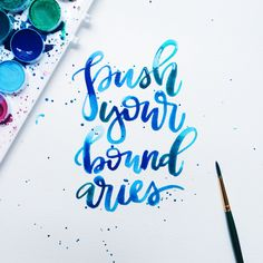 #HandLettering by Jenn Gietzen of Write On! Design // #WriteOnDesign