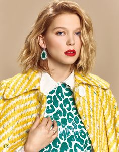 Léa Seydoux for Japanese ELLE