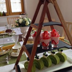 Afternoon Tea Party at home