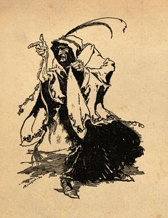 'The Thirteenth Fairy' Illustration by Arthur Rackham from the book 'Snowdrop and Other Tales' http://www.amazon.com/gp/product/1447477375/ref=as_li_tl?ie=UTF8&camp=1789&creative=9325&creativeASIN=1447477375&linkCode=as2&tag=reaboo09-20&linkId=3M2TE5OS2H4REJZ2