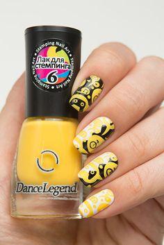Dance Legend - Stamping - 06 - Yellow