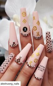 Top 100 Acrylic Nail Designs of May Page 34 - Gucci Nails - Ideas of Gucci Nails - Hello ladies who are fond of nails. Want to look at new nail design ideas? We find the best nail art pictures for you. You can find the bes