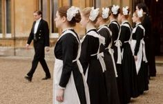 'Downton Abbey' costume exhibit coming to Biltmore Downton Abbey Costumes, Downton Abbey Fashion, Downton Abbey Saison 1, Netflix Instant, Maxon Schreave, Maid Uniform, Kaiser, Edwardian Era, Georgian Era