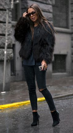 The faux fur look is cool, but what about the cruelty? Make it CRUELTY-FREE! Check out our range of vegan leather and faux fur coats and jackets on James&Co: http://jamesandcovegan.net