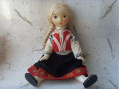 Vintage Soviet Doll Made in USSR in 1980s by Astra9 on Etsy, $33.20