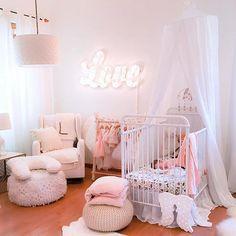 Princess Nursery Idea for a Baby Girl