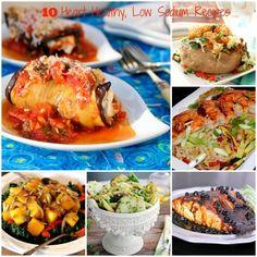 10 Heart Healthy Low Sodium Recipes | ShesCookin.com