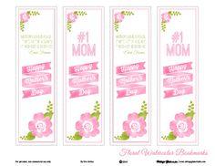 Free Printable Download - Floral Watercolor Bookmarks | Vintage Glam Studio