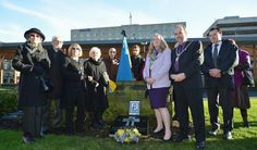 The Bradford Ukrainian community unveiled a plaque to commemorate the anniversary of the Holodomor holocaust