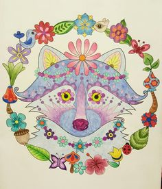 Cute Cat From Thaneeya McArdles Dapper Animals Coloring