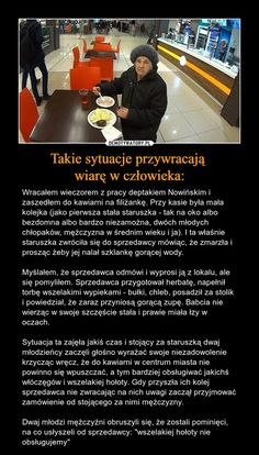Takie sytuacje przywracają wiarę w człowieka: Funny Memes, Jokes, Everything And Nothing, God Loves You, Some Quotes, Faith In Humanity, True Stories, Personal Development, Life Lessons