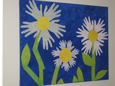 My friend Deborah made this cute wall art with her children's hands.