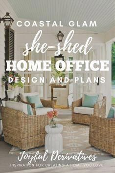 southern porch inspiration for a she shed home office design she rh pinterest com