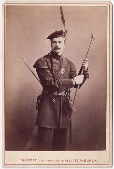 "John Hamilton (""Ham"") Gillespie of the Royal Company of Archers, the sovereign's bodyguard in Scotland."