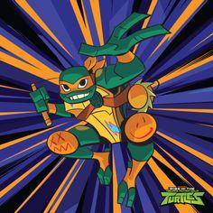 Rise of the Teenage Mutant Ninja Turtles: Michelangelo